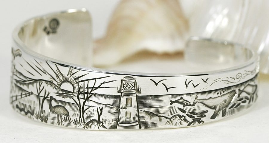 'Ocean to Outback', Tapered Cuff