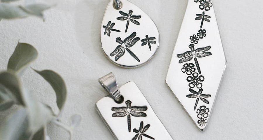 Pendants in a variety of shapes and designs