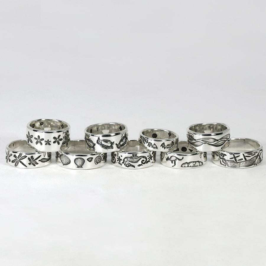 Standard Sterling Silver Rings