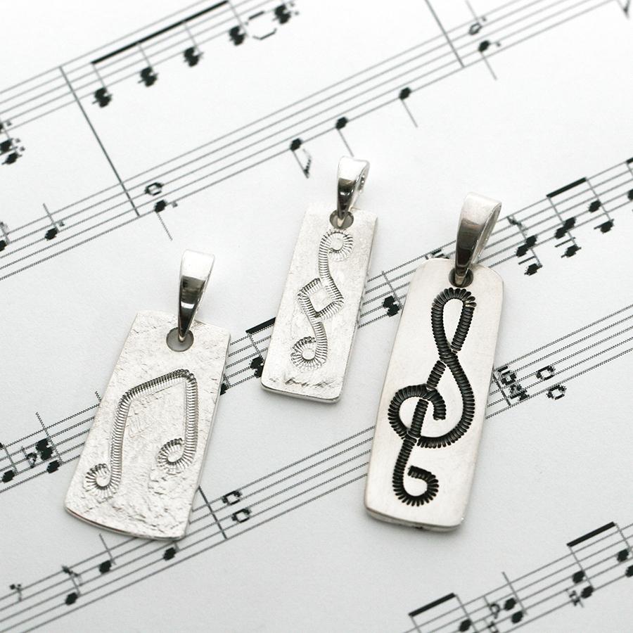 music pendants