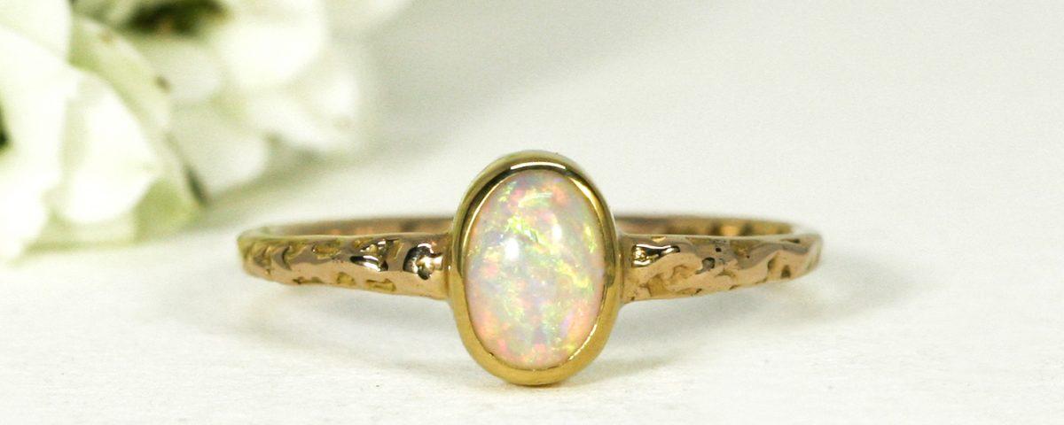yellow-gold-18ct-ring-opal-Eternal-Sunshine-john-miller-design