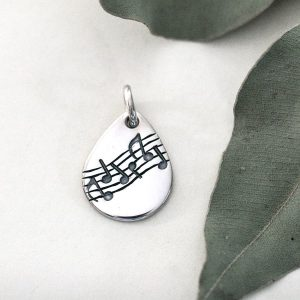 Music Themed Pendant